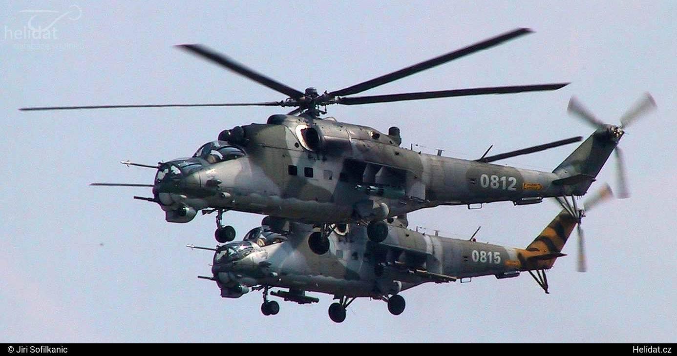 89759113e Foto vrtulníku - 0812 - Mil Mi-24 V Hind E