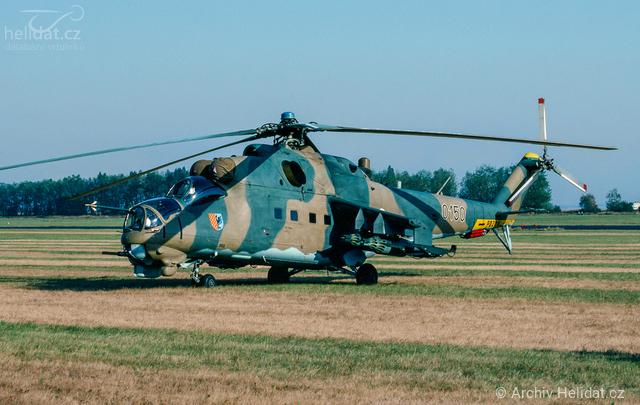 Foto vrtulníku 0150 - Mil Mi-24D Hind D