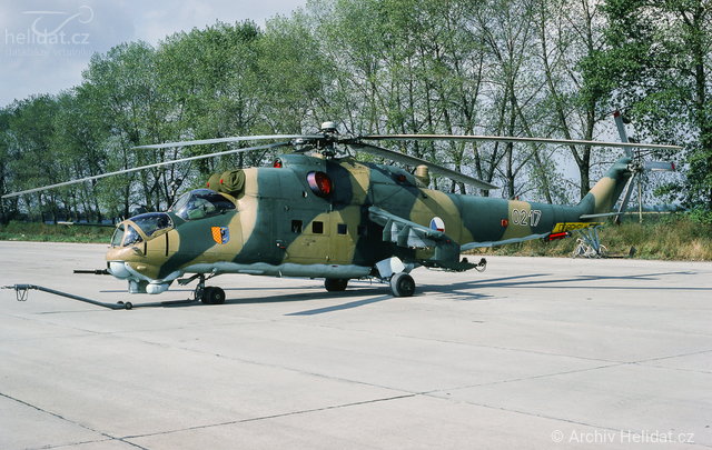 Foto vrtulníku 0217 - Mil Mi-24D Hind D