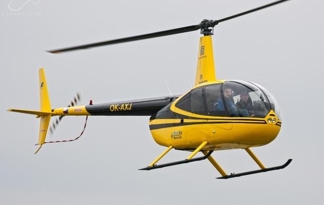 Foto vrtulníku OK-AXJ - Robinson R44 Raven I
