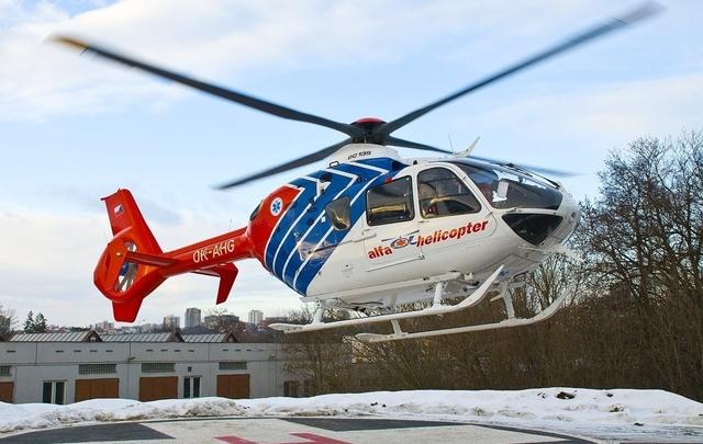 Foto vrtulníku OK-AHG - Eurocopter EC135 T2+