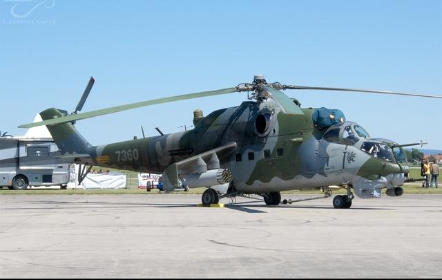 Foto vrtulníku 7360 - Mil Mi-24V Hind E