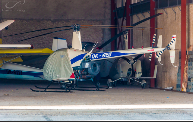 Foto vrtulníku OK-AEB - Robinson R22 Beta II