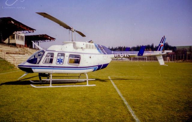 Foto vrtulníku OK-XIS - Bell 206L3 LongRanger III