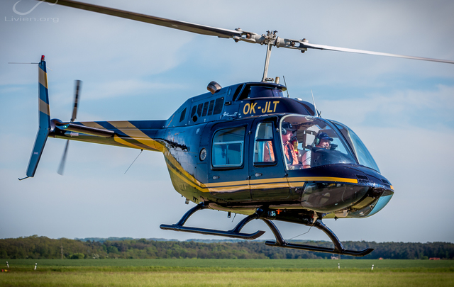 Foto vrtulníku OK-JLT - Bell 206B JetRanger III