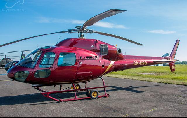 Foto vrtulníku OK-DSQ - Eurocopter AS355 N