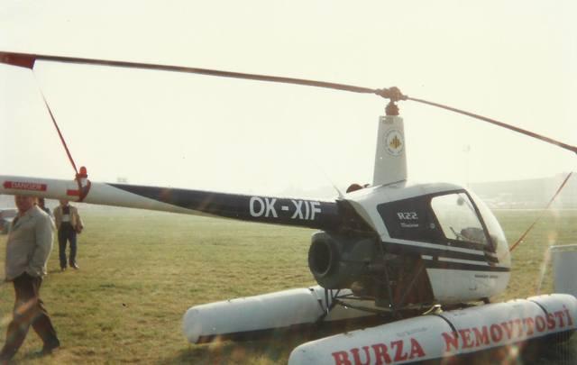 Foto vrtulníku OK-XIF - Robinson R22 Mariner