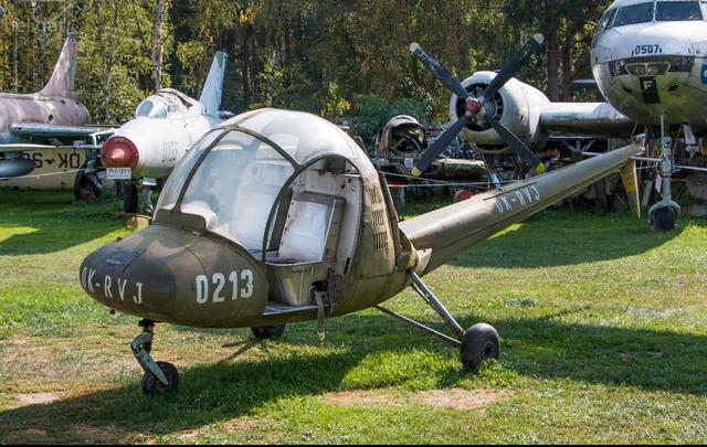 Foto vrtulníku OK-RVJ - Moravan HC-102 Heli Baby