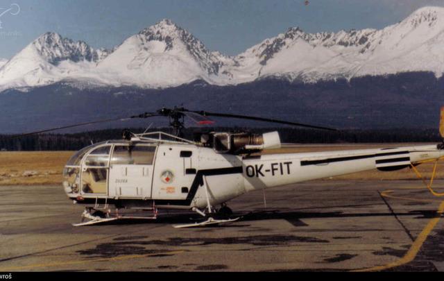 Foto vrtulníku OK-FIT - Aerospatiale SA 316B Alouette III