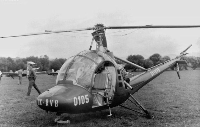 Foto vrtulníku OK-RVB - Moravan HC-102 Heli Baby