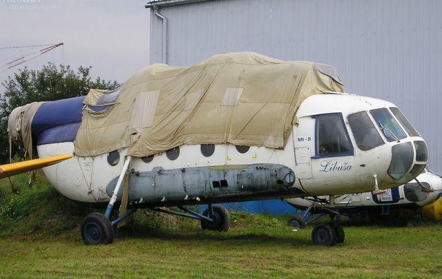 Foto vrtulníku OK-AXZ - Mil Mi-8T Hip