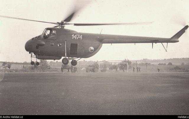 Foto vrtulníku 1474 - Mil Mi-4A Hound A