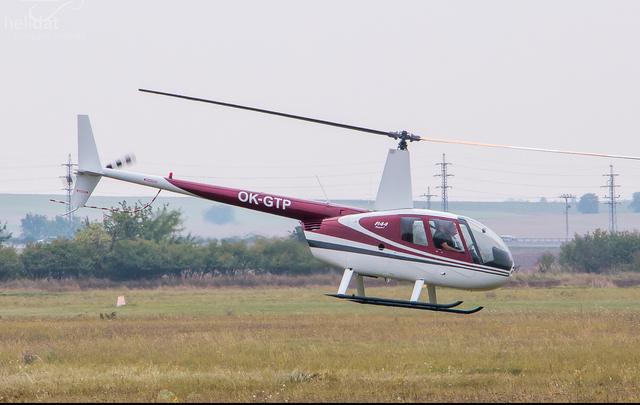 Foto vrtulníku OK-GTP - Robinson R44 Raven I