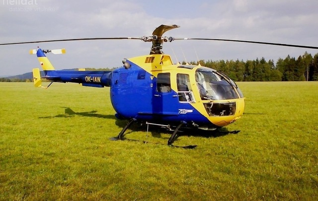 Foto vrtulníku OK-IAN - MBB BO-105 CB-4