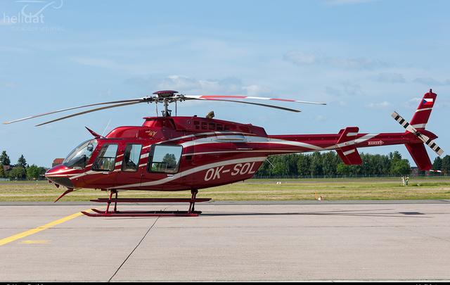 Foto vrtulníku OK-SOL - Bell 407