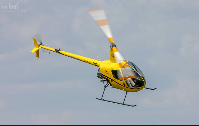 Foto vrtulníku OK-LPS - Robinson R22 Beta II