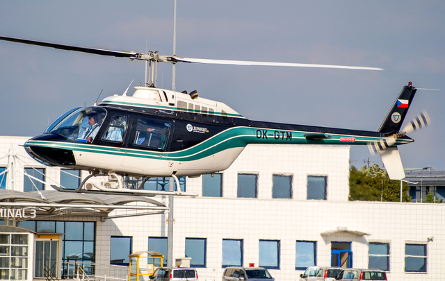 Foto vrtulníku OK-GTM - Bell 206B JetRanger III