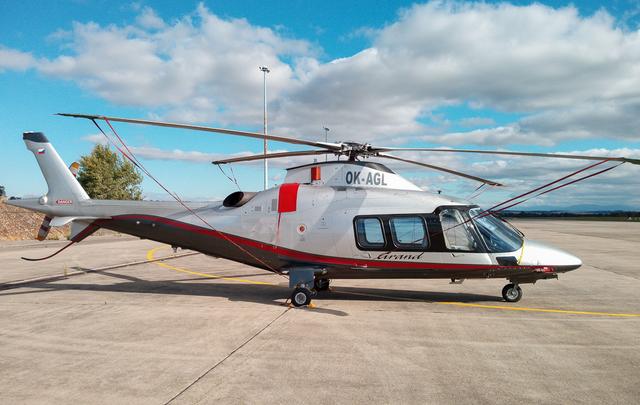 Foto vrtulníku OK-AGL - AgustaWestland A109S Grand