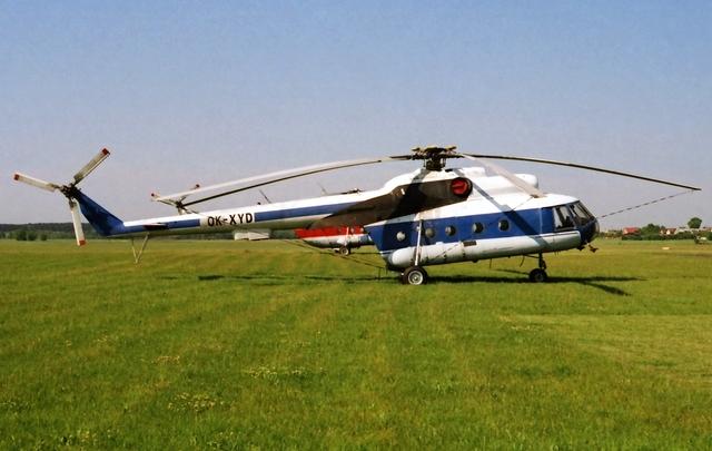 Foto vrtulníku OK-XYD - Mil Mi-8T Hip