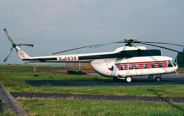 Foto vrtulníku B-8938 - Mil Mi-8 PS-9 Hip