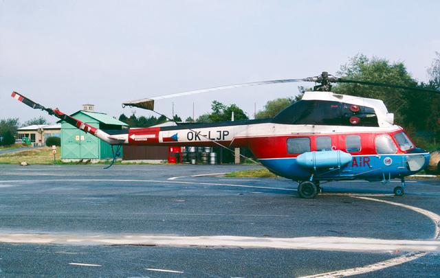 Foto vrtulníku OK-LJP - Mil Mi-2R Hoplite