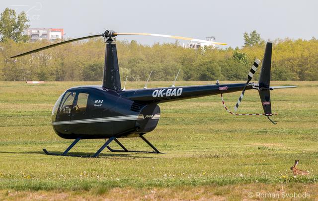 Foto vrtulníku OK-BAD - Robinson R44 Raven II