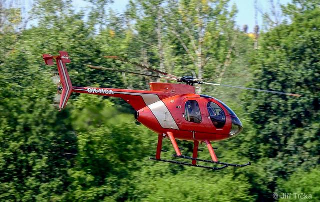 Foto vrtulníku OK-HCA - MD 500E