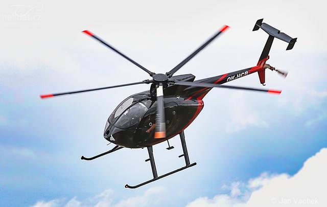 Foto vrtulníku OK-HCB - MD 500E