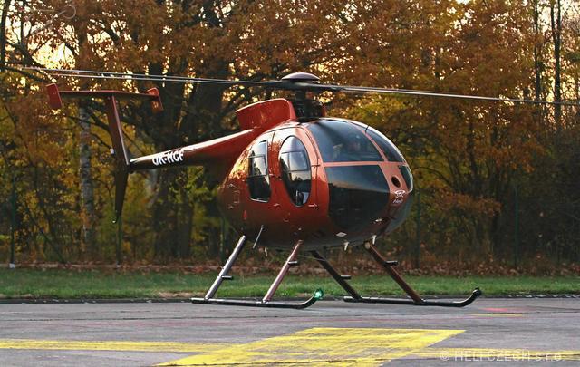 Foto vrtulníku OK-HCF - MD 500E