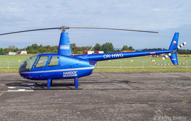 Foto vrtulníku OK-HWG - Robinson R44 Raven II