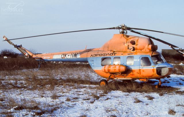 Foto vrtulníku OK-IIN - Mil Mi-2R Hoplite