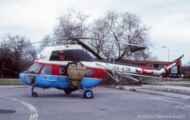 Foto vrtulníku OK-KJN - Mil Mi-2T Hoplite