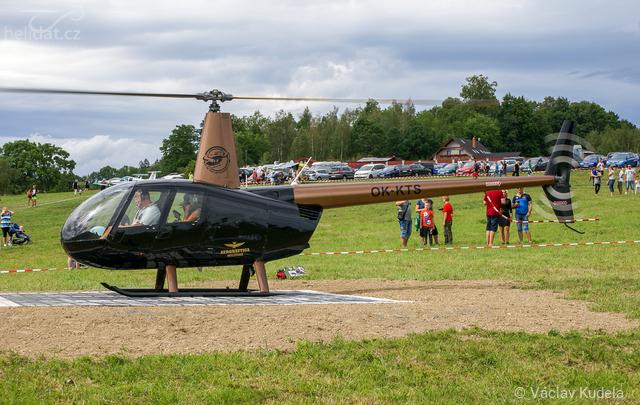 Foto vrtulníku OK-KTS - Robinson R44 Raven II