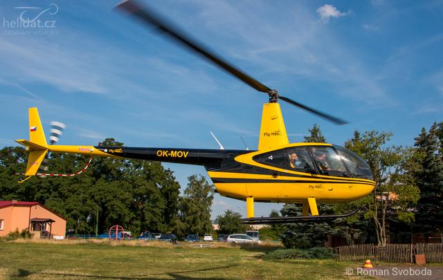 Foto vrtulníku OK-MOV - Robinson R44 Raven I