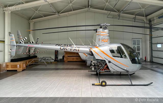 Foto vrtulníku OK-PAT - Robinson R22 Beta II