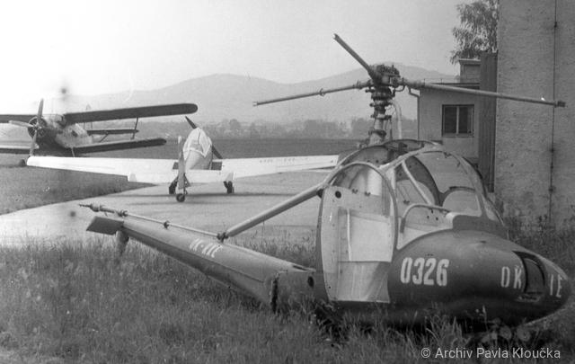 Foto vrtulníku OK-RXE - Moravan HC-102 Heli Baby