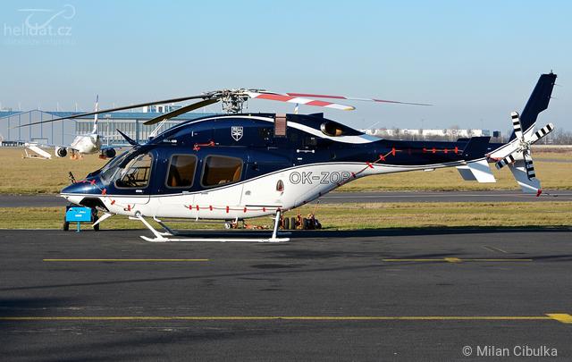 Foto vrtulníku OK-ZOB - Bell 429